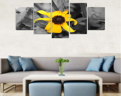 Quadro Flower Yellow - QCMA0177