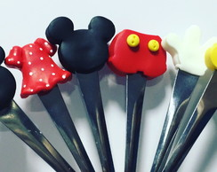 Kit colher Mickey e Minnie