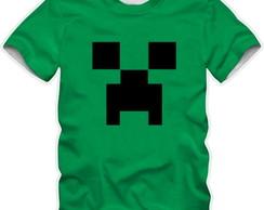 ... camiseta camisa minecraft creeper verde 140e424db9fd1