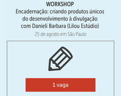 Workshop Encadernação - Danieli Barbara
