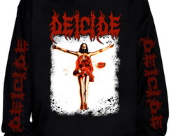 Blusa Deicide Once upon the cross