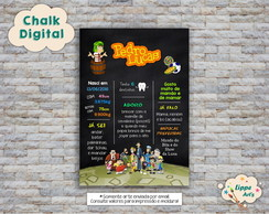 Chalk Digital Turma do Chaves