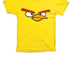Camiseta Chuck Angry Birds Yellow