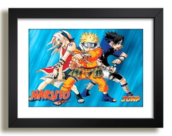 Quadro Anime Series da TV Naruto F51