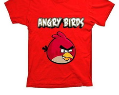Camiseta Chuck Angry Birds Red
