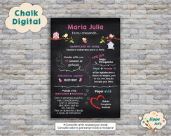 Chalk Digital Chá de Fraldas