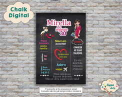 Chalk Digial De Repente 30