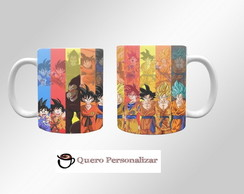 Caneca Dragon Ball Goku 05