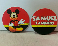 Toppers Personalizados 2,5cm