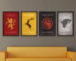 Kit de posters de Game of thrones