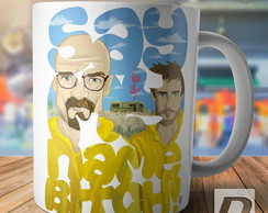Caneca Breaking Bad Heisenberg e Jesse