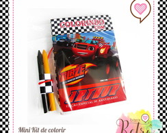 KIT DE COLORIR - MONSTER BLAZE MACHINE