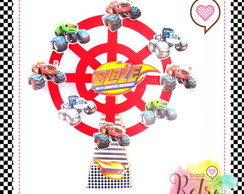 RODA GIGANTE MONSTER BLAZE MACHINES