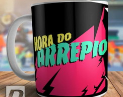 Caneca Hora Do Arrepio Halloween