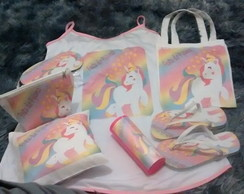 Kit camisola unicornio personalizada kit