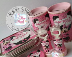 "kit Festa "" Minnie Rosa"""