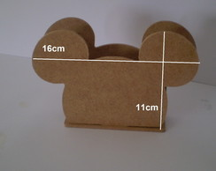 KIT 20PC PORTA GUARDANAPO MICKEY
