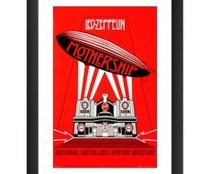 Quadro Led Zeppelin Mothership Band Rock