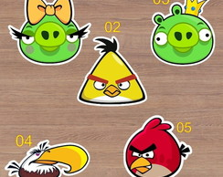 Aplique - Recorte - Angrybirds