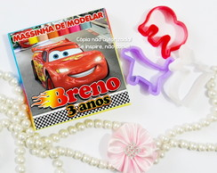 Kit Massinha Forminha Carros Disney