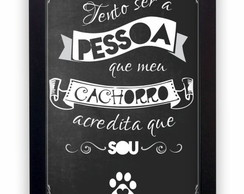 Quadro Decorativo Pet Lovers Dogs