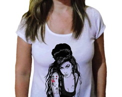 Camiseta Feminina Amy winehouse 37