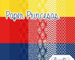Kit Digital Papers Princesa