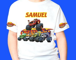 Camiseta Blaze Monster Machines 6
