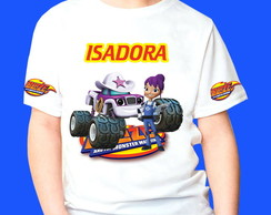 Camiseta Blaze Monster Machines 5