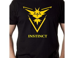 Camiseta pokemon go team instinct