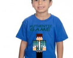 Camiseta Minecraft Authentic Game