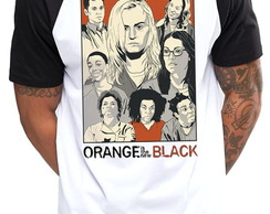 Camiseta Raglan Orange is the new Black