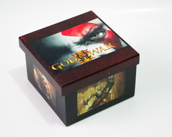 Caixa mdf God of War Modelo 2