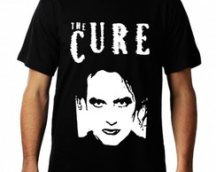 Camiseta The Cure Manga Curta Masculina