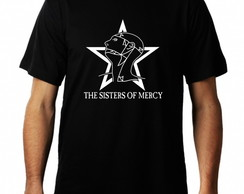 Camiseta The Sisters of Mercy masculina bandas de rock