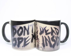 Caneca Mágica The Walking Dead Dont Open
