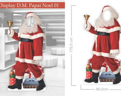 Display Decorativo Moldura - Papai Noel