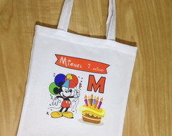 Sacola Eco bag Personalizada Mickey