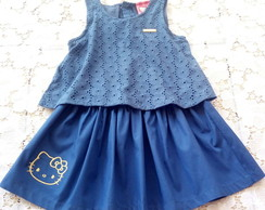 VESTIDO TM04 HELLO KITTY
