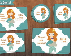 Kit Festa Digital - Ariel Cute