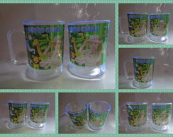 Caneca 300ml Safari ou Floresta c/ Foto