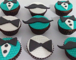 Cupcakes Mustache