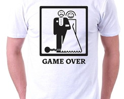 Camiseta – Game Over