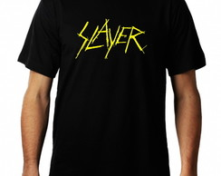 Camiseta Slayer Masculina Metal