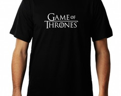 Camiseta Game of Thrones Masculina series rock jon snow