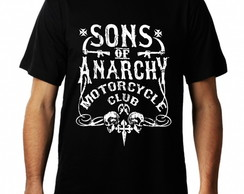 Camiseta Sons.of.anarchy Masculina