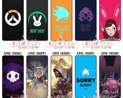 Capa Capinha Celular Overwatch Over