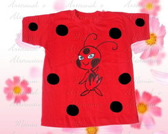 Camiseta divertida Lady bug tiki
