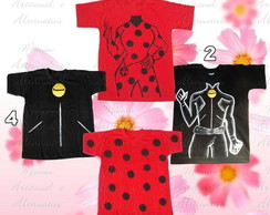 Camiseta divertida Lady bug e Amigos