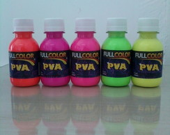TINTA PVA FLOURESCENTE 100ML